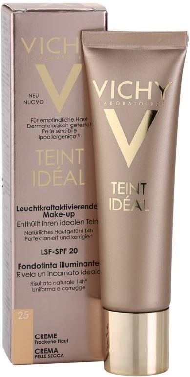 Vichy Teint Idéal Rozjasňující krémový make-up 25 Moyen 30 ml