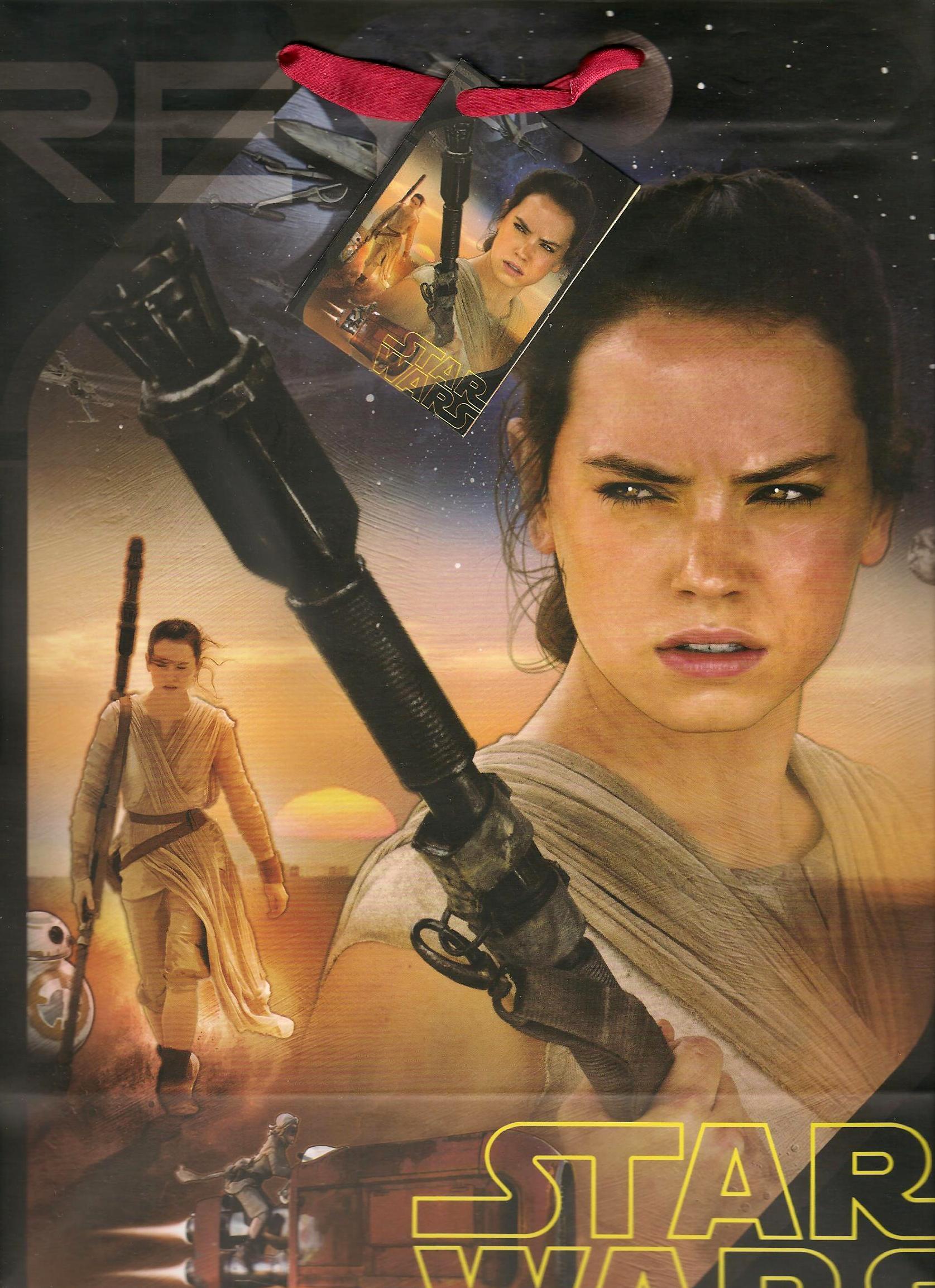 Fotografie Ditipo Disney Dárková papírová taška dětská L Star Wars 26,4 x 12 x 32,4 cm