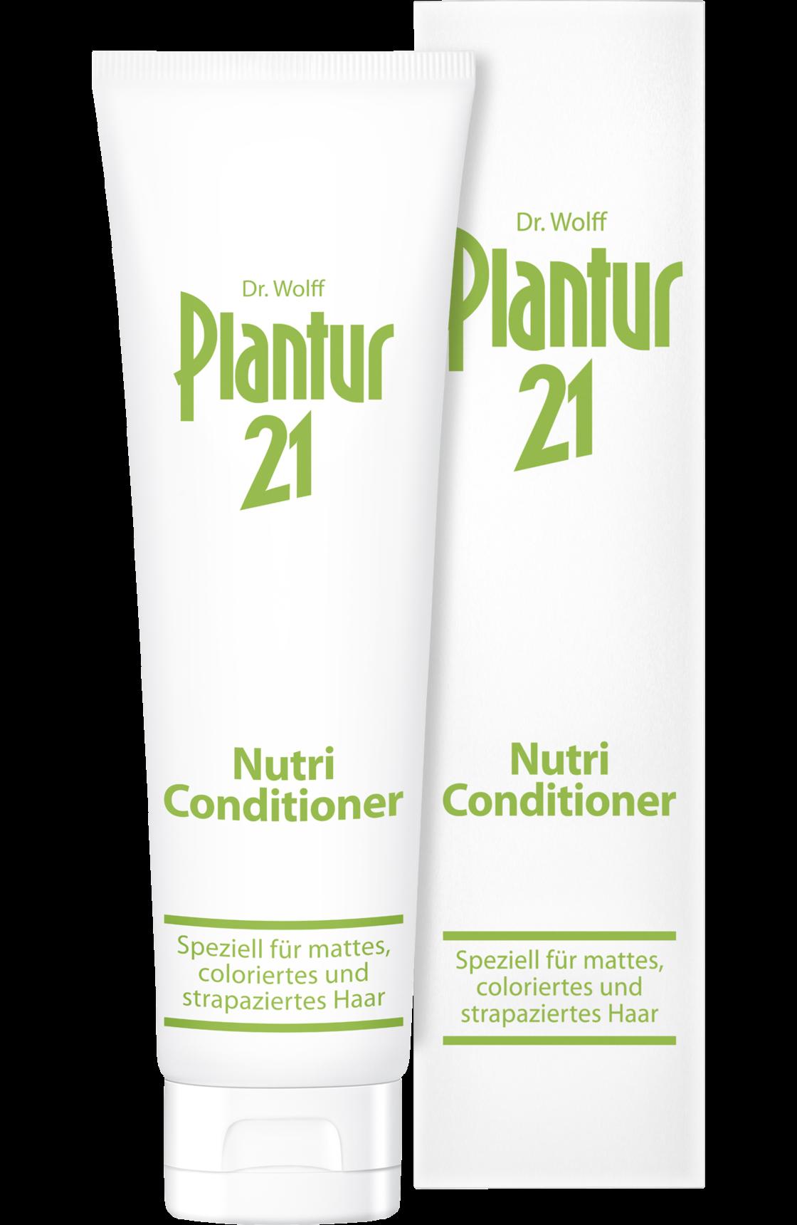 Fotografie Plantur 21 nutri-kofeinový kondicionér pro barvené a poškozené vlasy 150 ml