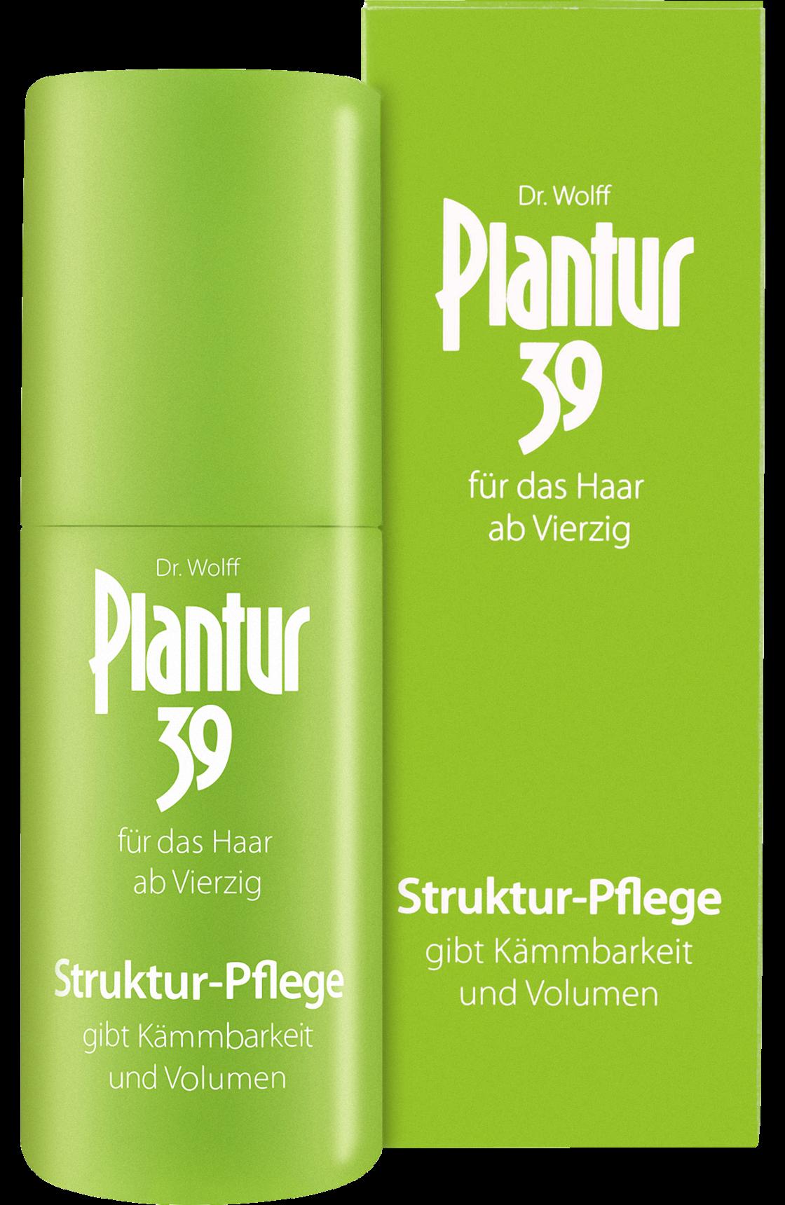 Fotografie Plantur 39 Strukturovací péče proti vypadávání vlasů pro ženy 30 ml