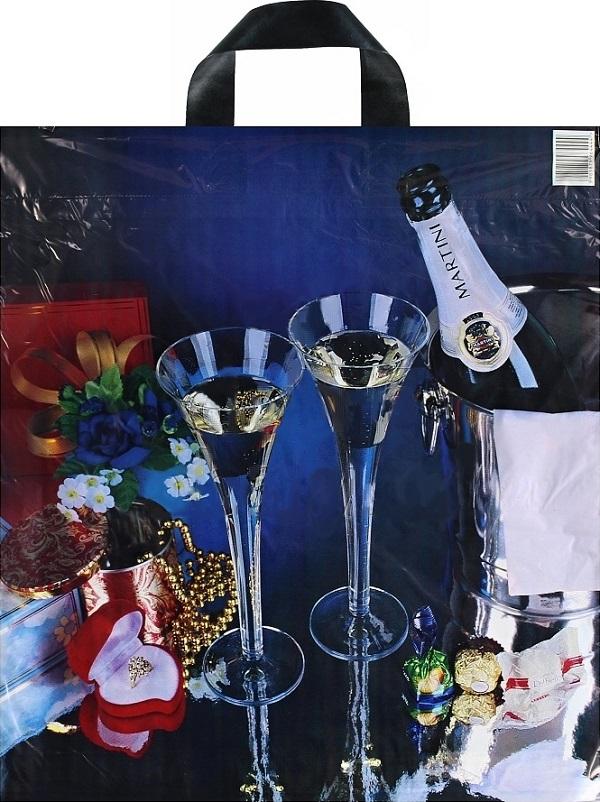 Fotografie Press Igelitová taška Martini 43 x 47 cm 1 kus
