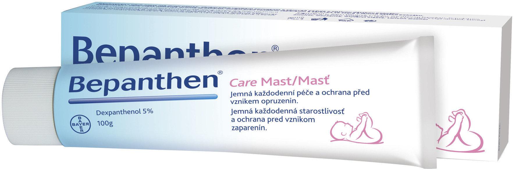 Fotografie Bepanthen Care Mast chrání proti opruzeninám 100 g