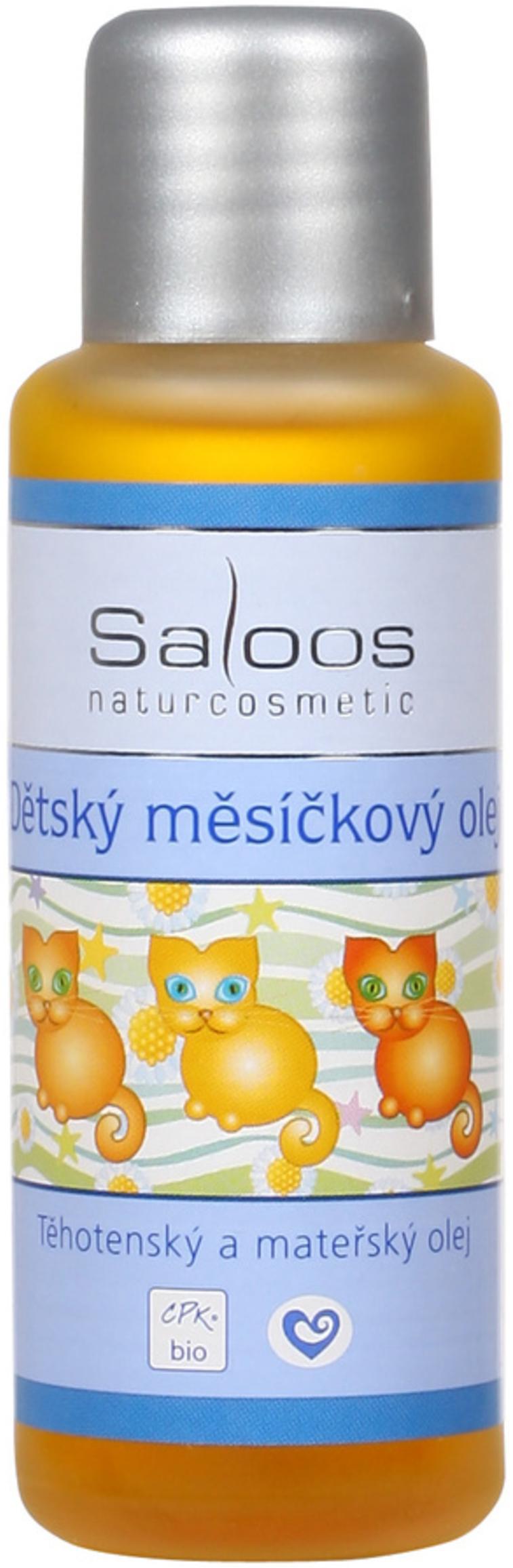 Fotografie Saloos Bio Dětský měsíčkový olej 50 ml