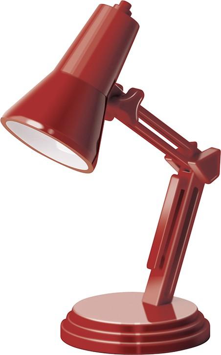 If The Book Lamp Mini lampička retro Červená 38 x 38 x 120 mm