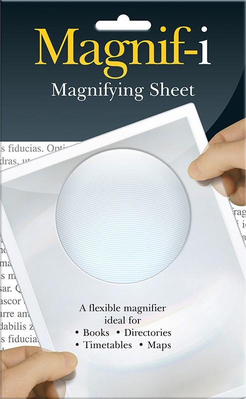 If Magnifyer Flexible A5 sheet Lupa praktická 21,8 x 13,4 x 0,2 cm