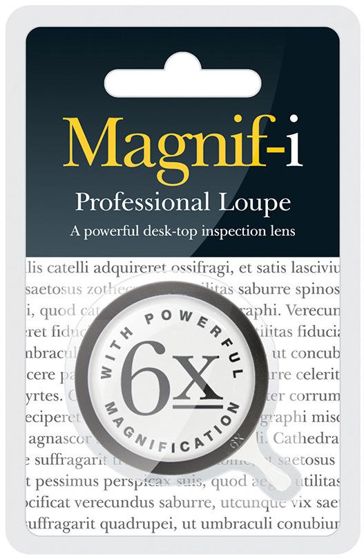 If Professional Loupe Black Lupa profesionální 40 mm