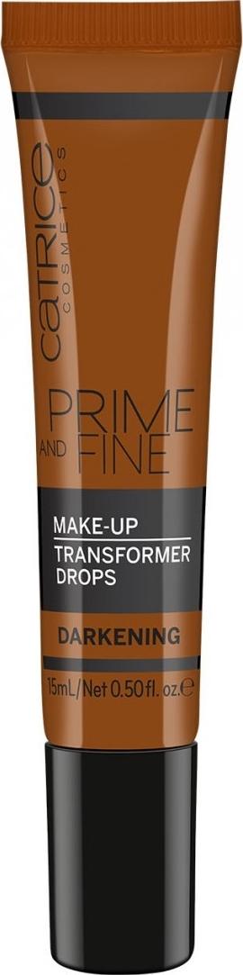 Catrice Prime and Fine Make Up Transformer Drops Darkening kapky do make-upu ztmavující 15 ml