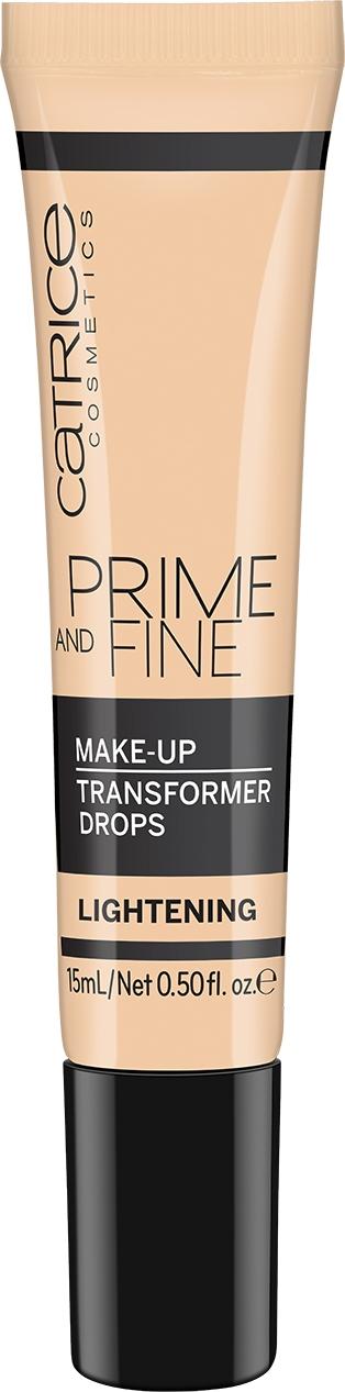 Catrice Prime and Fine Make Up Transformer Drops Lightening kapky do make-upu zesvětlující 15 ml