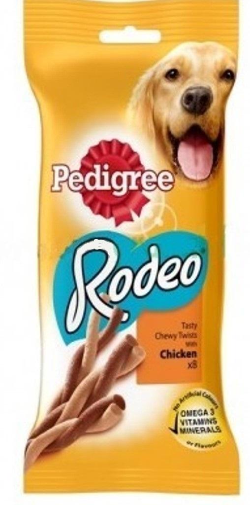 Pedigree Rodeo Drůbeží doplňková strava pro dospělé psy 70 g