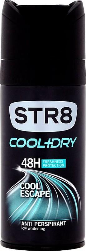 Fotografie Str8 Cool + Dry Cool Escape 48h antiperspirant deodorant sprej pro muže 150 ml
