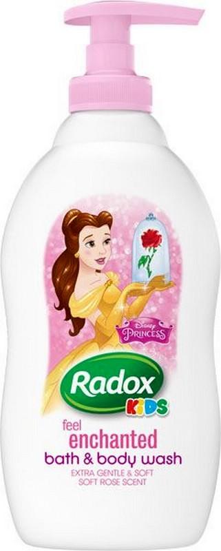 Fotografie Radox Kids Princess sprchový gel a pěna pro děti dávkovač 400 ml