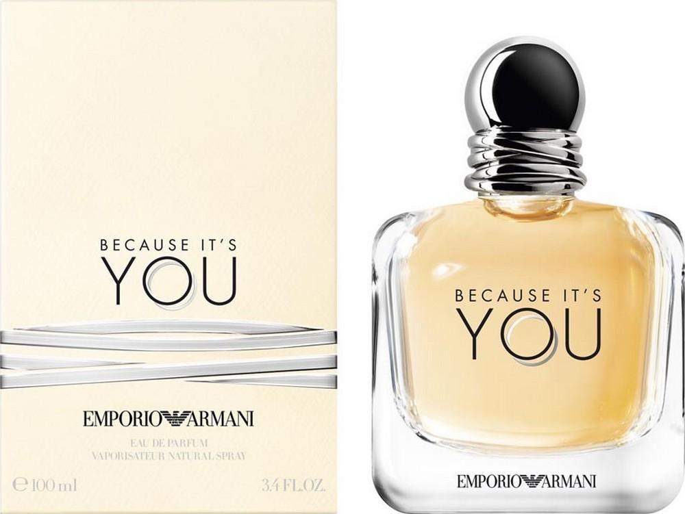 Fotografie Giorgio Armani Emporio Because Its You parfémovaná voda pro ženy 100 ml