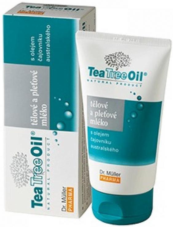 Fotografie Dr. Muller Tea Tree Oil tělové a pleťové mléko 150 ml