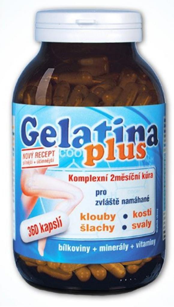 Anton Hübner Gelatina Plus kolagenní výživa 360 kapslí