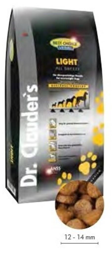 Fotografie Dr. Clauders Best Choice Light kompletní krmivo pro dospělé psy 12,5 kg