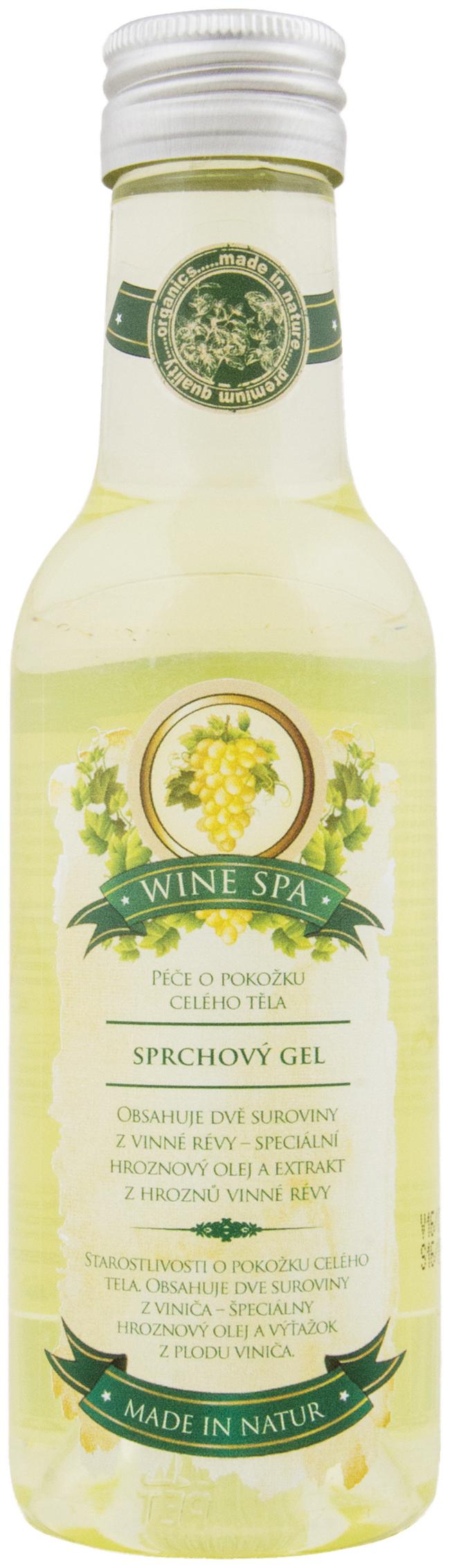 Fotografie Bohemia Gifts & Cosmetics Wine Spa Premium Vinná kosmetika sprchový gel 200 ml