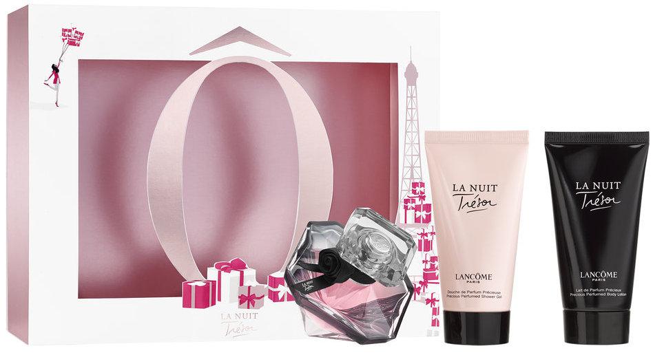 Lancome La Nuit Trésor parfémovaná voda pro ženy 30 ml + tělové mléko 50 ml + sprchový gel 50 ml, dárková sada