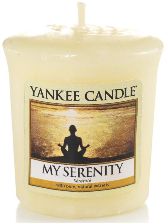 Yankee Candle My serenity - Můj vnitřní klid vonná svíčka votivní 49 g