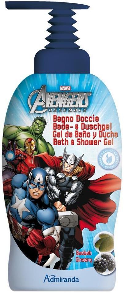Fotografie Marvel Avengers sprchový a koupelový gel pro děti 1 l