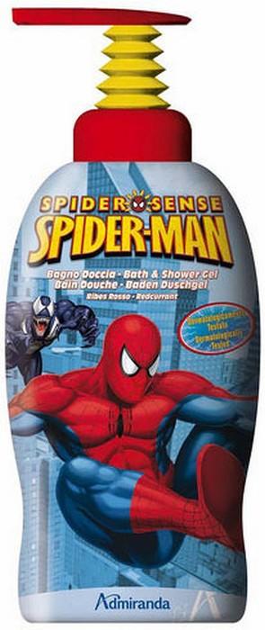 Fotografie Marvel Spiderman 2v1 koupelový a sprchový gel pro děti 1 l
