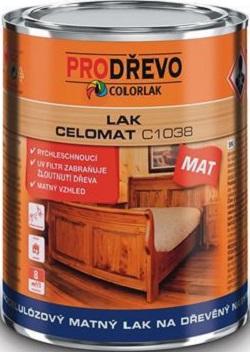 Fotografie Colorlak Celomat C1038 nitrocelulózový matný lak na dřevěný nábytek 0,75 ml