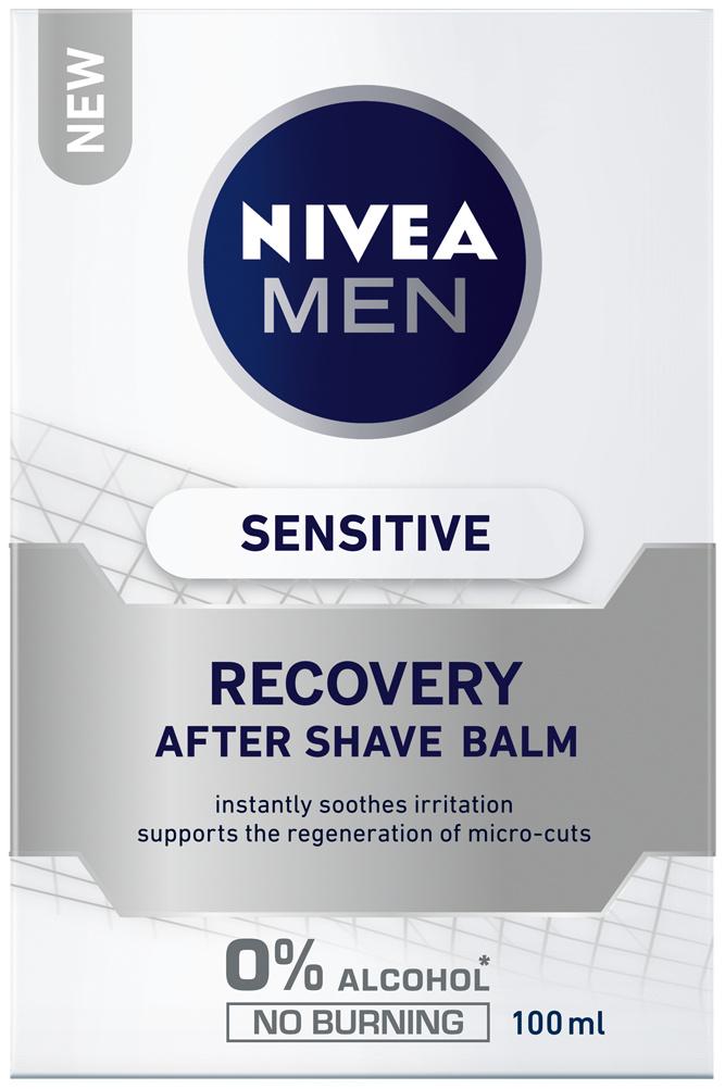 Fotografie Nivea Men Sensitive Recovery balzám po holení 100 ml