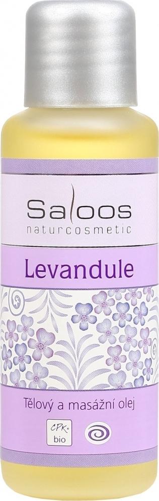 Fotografie Saloos Levandule tělový a masážní olej 50 ml