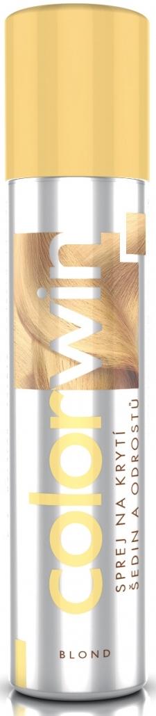 Colorwin Kryje šediny a odrosty Blond 75 ml sprej