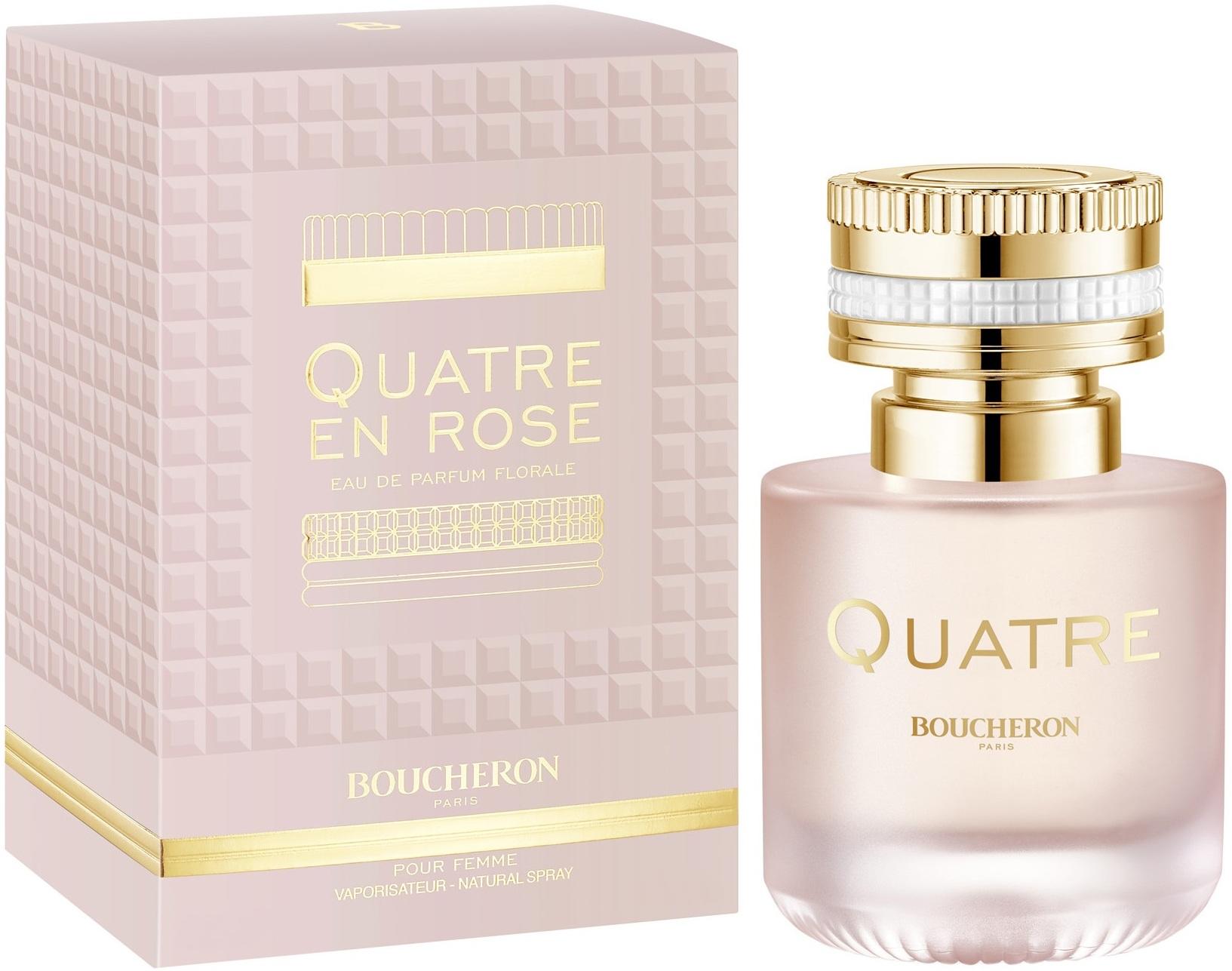 Boucheron Quatre En Rose parfémovaná voda pro ženy 100 ml