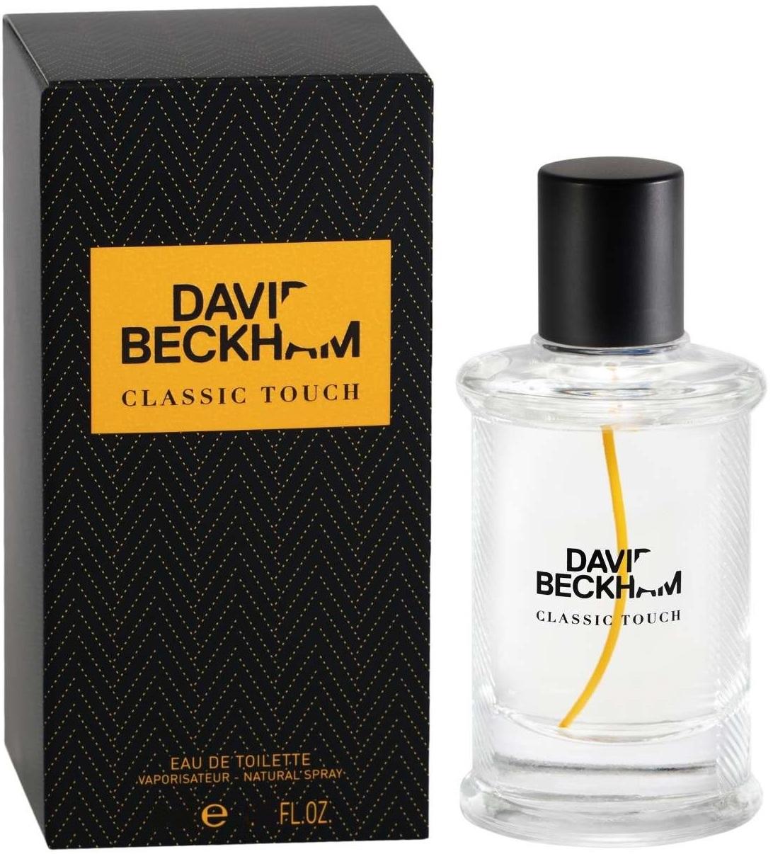 David Beckham Classic Touch toaletní voda pro muže 90 ml