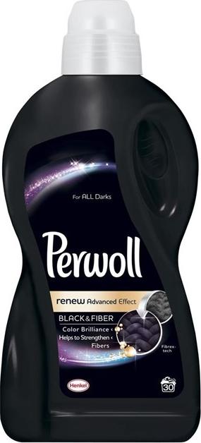 Perwoll Black & Fiber tekutý prací gel 30 dávek 1,8 l