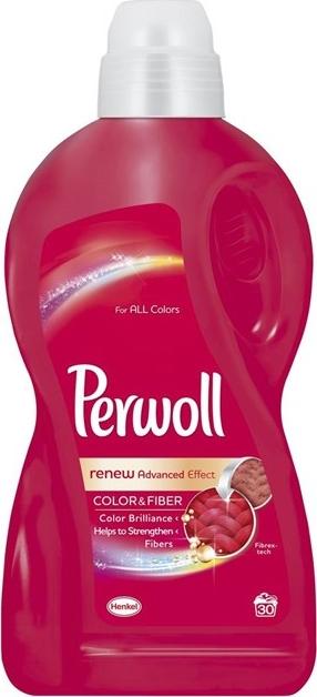 Perwoll Color & Fiber tekutý prací gel 30 dávek 1,8 l