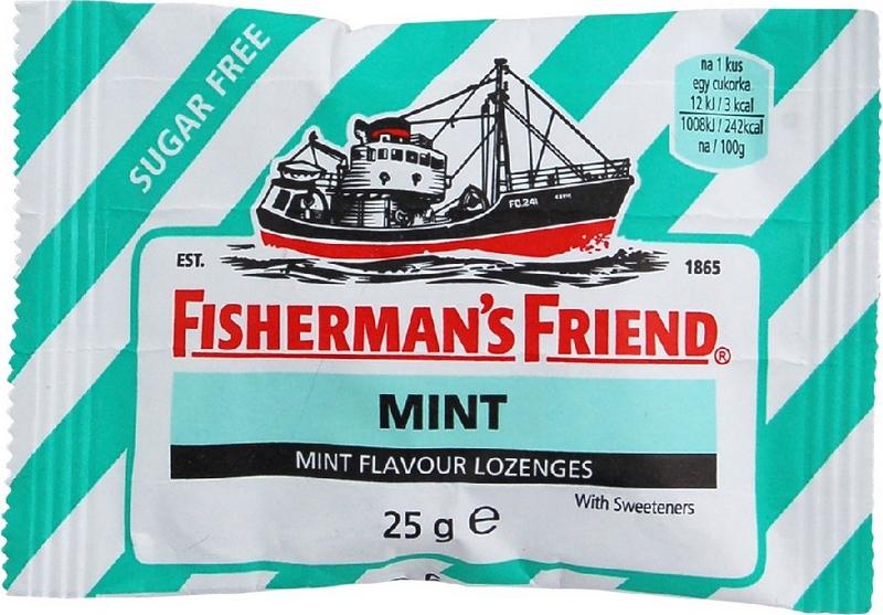 Fishermans Friend bonbóny dia mátové zelené 25 g