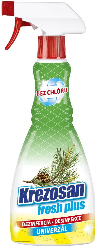 Krezosan Fresh Plus Univerzál dezinfekce rozprašovač 500 ml