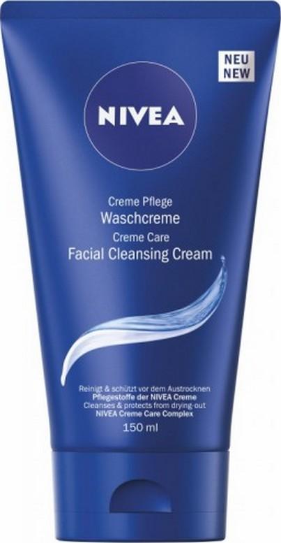 Fotografie Nivea Creme Care Facial Cleansing Creme čistící pleťový krém 150 ml