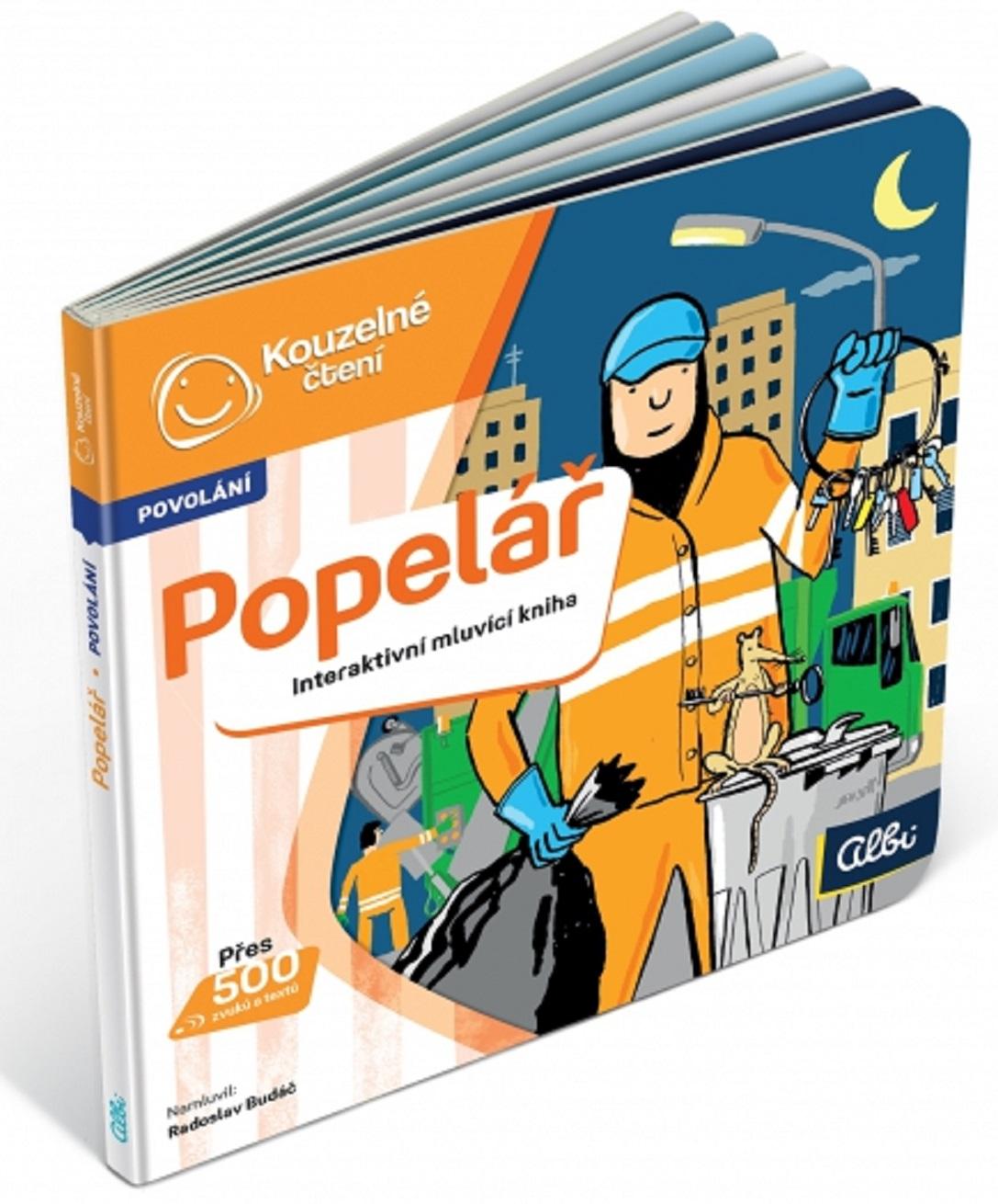 Albi Kouzelné čtení interaktivní minikniha Popelář, věk 5+