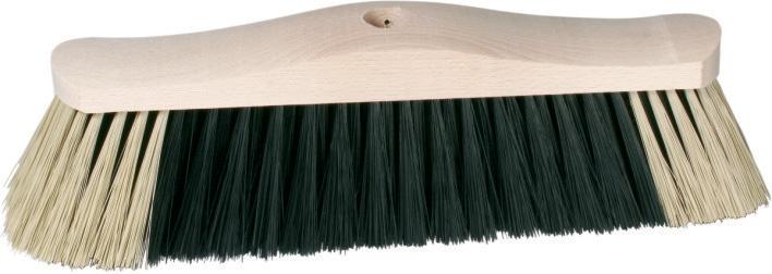 Spokar Smeták na hůl dřevěné nelakované těleso bez závitu, syntetická vlákna
