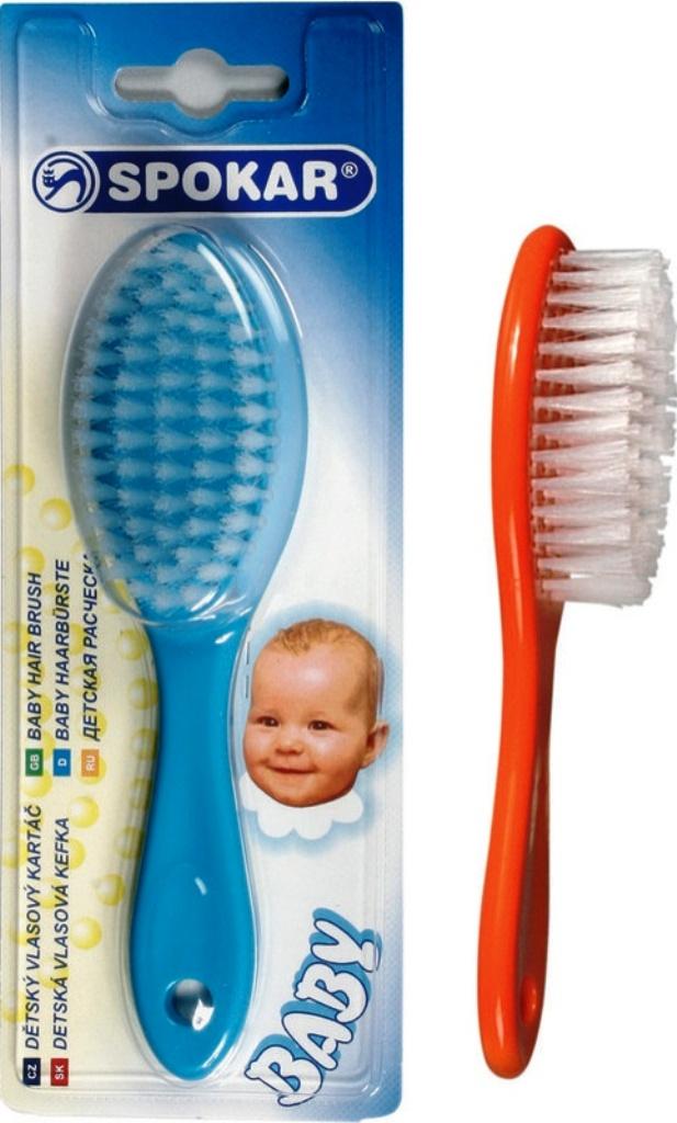 Fotografie Spokar Baby Kartáč vlasový 3121