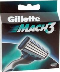 Gillette Mach 3 náhradní hlavice 2 ks