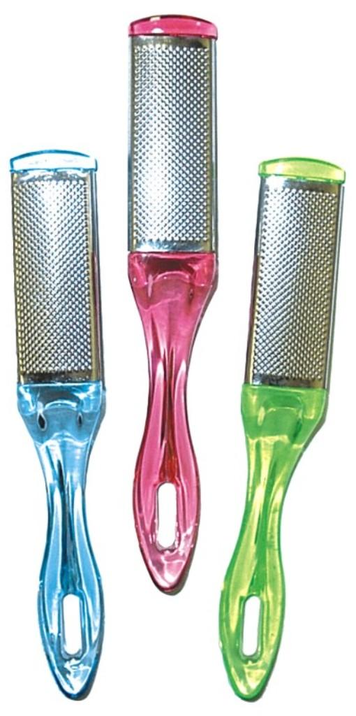 Abella Škrabka na paty kovová velká různé barvy 1 kus HM-78