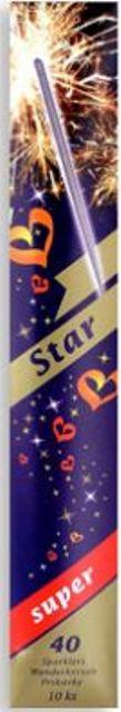 Star Prskavky - 40 super 10 ks Prskavky - 40 super prodejné od 15 let!