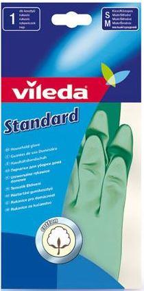 Fotografie Vileda Standard rukavice gumové M střední 1 pár