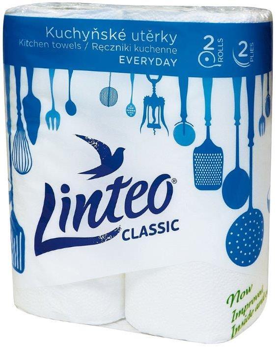 Fotografie Linteo Classic papírové kuchyňské utěrky 2 kusy