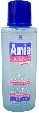 Fotografie Amia Active odličovač očí pro normální pleť 125 ml