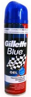 Fotografie Gillette Blue Protection gel na holení pro muže 200 ml