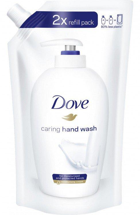 Fotografie Dove Krémové tekuté mýdlo (Beauty Cream Wash) Náhradní náplň 500 ml