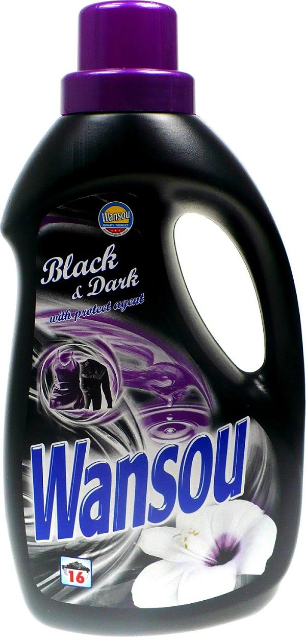 Wansou Black & Dark tekutý prací prostředek 16 dávek 1 l