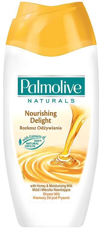Fotografie Palmolive Naturals Milk & Honey sprchový gel 250 ml