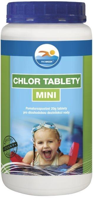 Probazen Chlor tablety Mini přípravek pro úpravu vody v bazénech 1,2 kg