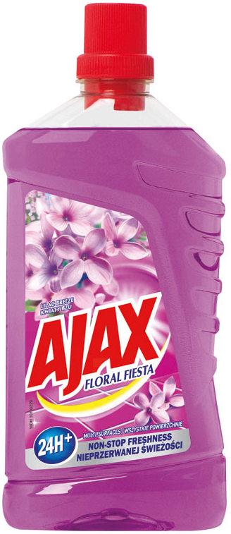 Fotografie Ajax Floral Fiesta Lilac univerzální čistící prostředek 1 l
